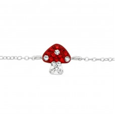 Mushroom - 925 Sterling Silver Bracelets for kids A4S37620