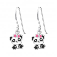Panda - 925 Sterling Silver Earrings for Children A4S39153