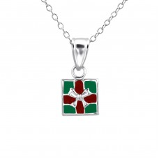 Gift - 925 Sterling Silver Necklaces with silver chains A4S23585