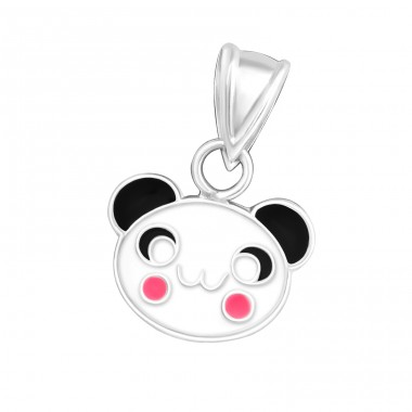 Panda - 925 Sterling Silver Pendants for kids A4S11256