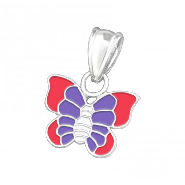 Butterfly - 925 Sterling Silver Pendants for kids A4S11768