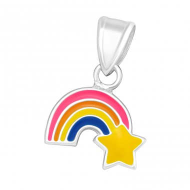 Rainbow - 925 Sterling Silver Pendants for kids A4S11771
