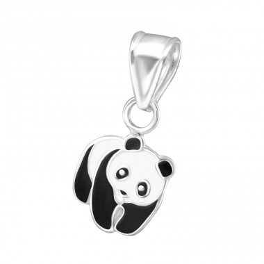 Panda - 925 Sterling Silver Pendants for kids A4S13648