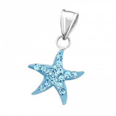 Star - 925 Sterling Silver Pendants for kids A4S14395