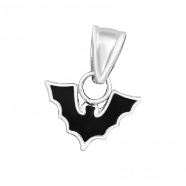 Bat - 925 Sterling Silver Pendants for kids A4S14536