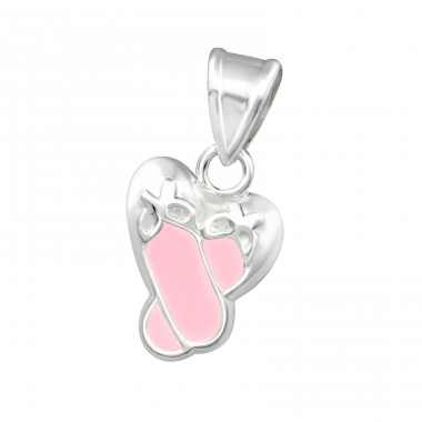 Shoe - 925 Sterling Silver Pendants for kids A4S15073