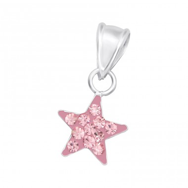 Star - 925 Sterling Silver Pendants for kids A4S15246