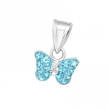Butterfly - 925 Sterling Silver Pendants for kids A4S15256