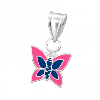 Butterfly - 925 Sterling Silver Pendants for kids A4S15490