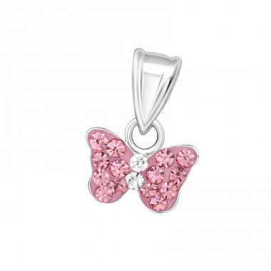 Butterfly - 925 Sterling Silver Pendants for kids A4S15920