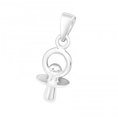 Pacifier - 925 Sterling Silver Pendants for kids A4S17122