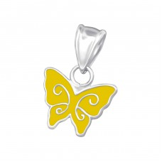 Butterfly - 925 Sterling Silver Pendants for kids A4S17893