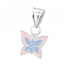 Butterfly - 925 Sterling Silver Pendants for kids A4S18763