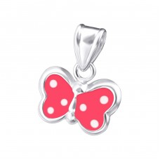 Butterfly - 925 Sterling Silver Pendants for kids A4S19006