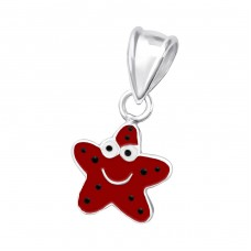 Star - 925 Sterling Silver Pendants for kids A4S19173