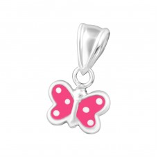 Butterfly - 925 Sterling Silver Pendants for kids A4S20624