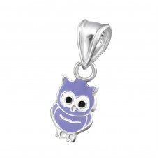 Owl - 925 Sterling Silver Pendants for kids A4S20709