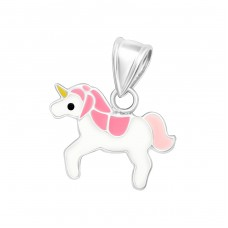 Unicorn - 925 Sterling Silver Pendants for kids A4S23867