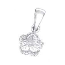 Flower - 925 Sterling Silver Pendants for kids A4S24835