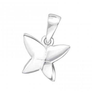 Butterfly - 925 Sterling Silver Pendants for kids A4S24851
