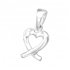 Heart - 925 Sterling Silver Pendants for kids A4S24859
