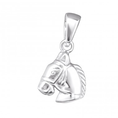Horse - 925 Sterling Silver Pendants for kids A4S24939