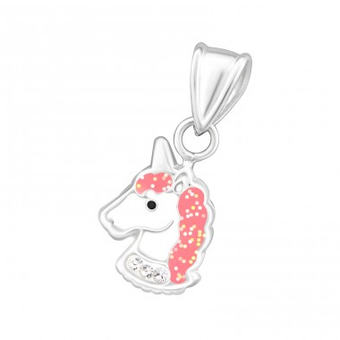 Unicorn - 925 Sterling Silver Pendants for kids A4S34043