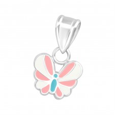 Butterfly - 925 Sterling Silver Pendants for kids A4S36656