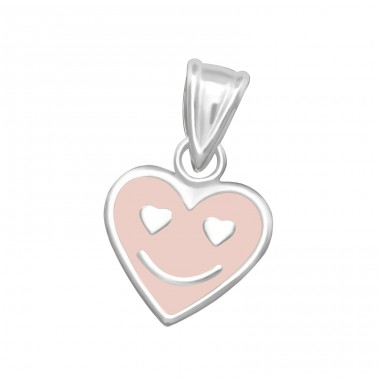 Heart - 925 Sterling Silver Pendants for kids A4S36918
