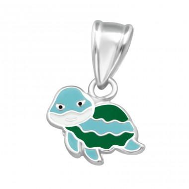 Turtle - 925 Sterling Silver Pendants for kids A4S36920