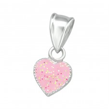 Heart - 925 Sterling Silver Pendants for kids A4S36922