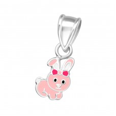 Rabbit - 925 Sterling Silver Pendants for kids A4S36925