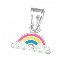 Rainbow - 925 Sterling Silver Pendants for kids A4S36926