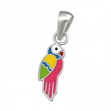 Parrot - 925 Sterling Silver Pendants for kids A4S38479