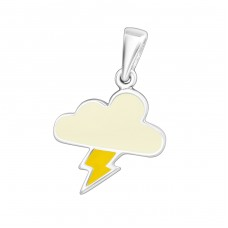 Cloud - 925 Sterling Silver Pendants for kids A4S5458