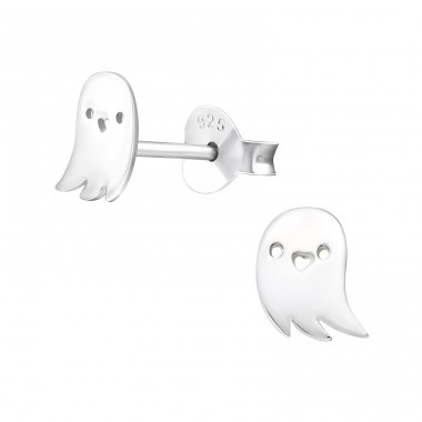 Ghost - 925 Sterling Silver Ear Studs for kids A4S17228