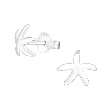 Starfish - 925 Sterling Silver Ear Studs for kids A4S20918