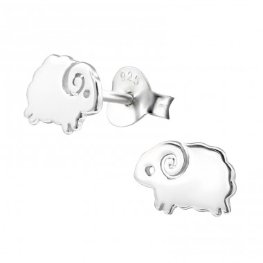 Flower - 925 Sterling Silver Ear Studs for kids A4S26265