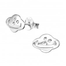 Planet - 925 Sterling Silver Ear Studs for kids A4S31061