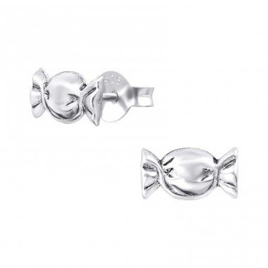 Candy - 925 Sterling Silver Ear Studs for kids A4S31315