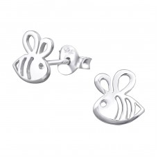 Bee - 925 Sterling Silver Ear Studs for kids A4S32173