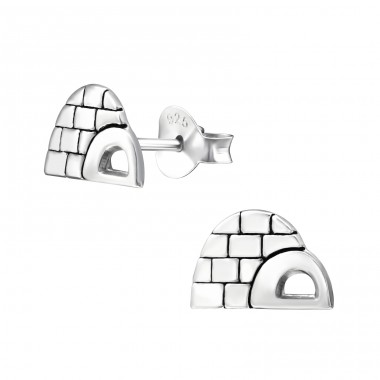 Iglo - 925 Sterling Silver Ear Studs for kids A4S33607