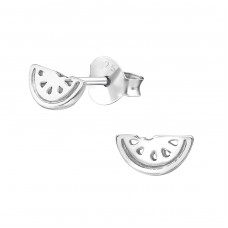 Watermelon - 925 Sterling Silver Ear Studs for kids A4S35800