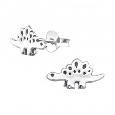 Dinosaur - 925 Sterling Silver Ear Studs for kids A4S36689
