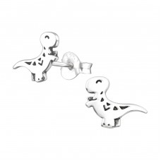 Dinosaur - 925 Sterling Silver Ear Studs for kids A4S36690