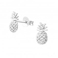 Pineapple - 925 Sterling Silver Ear Studs for kids A4S37340