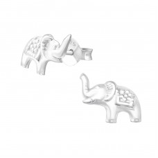 Elephant - 925 Sterling Silver Ear Studs for kids A4S37347
