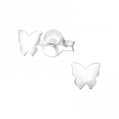 Butterfly - 925 Sterling Silver Ear Studs for kids A4S38459