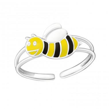 Bee - 925 Sterling Silver Rings for kids A4S1055