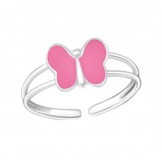 Butterfly - 925 Sterling Silver Rings for kids A4S1065